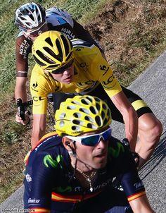 TDF 2015 stage16 Alejandro Valverde Christopher Froome