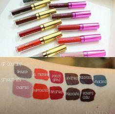 La splash cosmetics lip couture and smitten lip tint