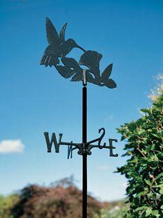 Hummingbird Garden Weathervane