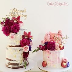 A duo of cakes for cute little sisters | WEBSTA - Instagram Analytics
