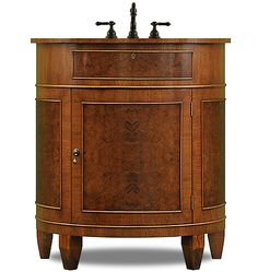 The Demilune Sink Base By J Tribble Atlanta S Premier Manufacturer Of Custom Modern Cabinets Vanities And Handcrafted Cabinetry