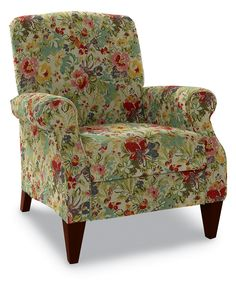 Charlotte High Leg Recliner by La-Z-Boy Lazy Boy Furniture, Condo Furniture, Furniture Ideas, My Living Room, Living Room Chairs, Dining Chairs, Dining Room, Funky Chairs, Floral Chair