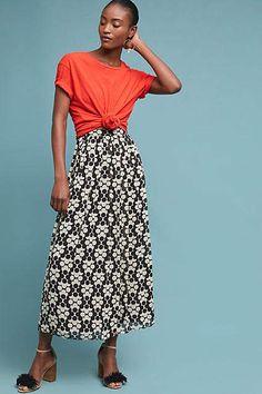 Orla Kiely Sienna Pleated Skirt