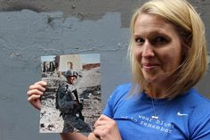 Lisa Hallett recalls the runs she took after her life was ripped apart in 2009.  Her husband John Hallett was killed during his deployment in Afghanistan and she was left with a three-year-old, a one-year-old and a newborn baby her husband would never meet.