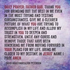Daily Inspirational Prayers | Daily Prayer