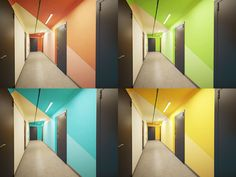 Wall Art Designs, Wall Design, House Design, Illusion Kunst, Elevator Lobby, Corridor Design, Kindergarten Design, Teen Bedroom Designs, Hospital Design