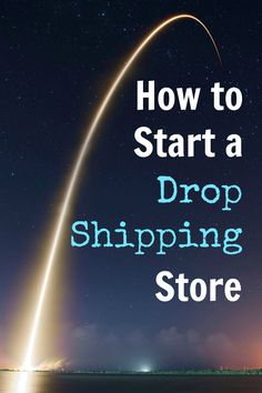 start a dropshipping store