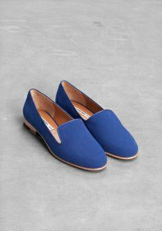 asymmetric slippers