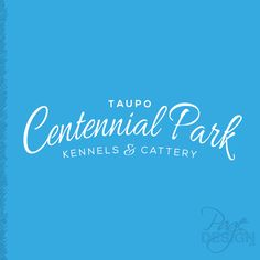 Logo Design for Taupo Centennial Park Kennels & Cattery, NZ