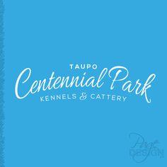 Logo Design for Taupo Centennial Park Kennels & Cattery, NZ