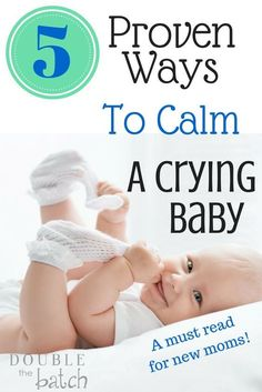 New Moms- Read this! If only I had known this with my first sweet little crying baby, I could have saved myself and my baby hours of frustration!