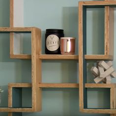 HOME-DZINE | DIY Projects - The cut outs in the individual shadowboxes allow you to create a unique design layout.