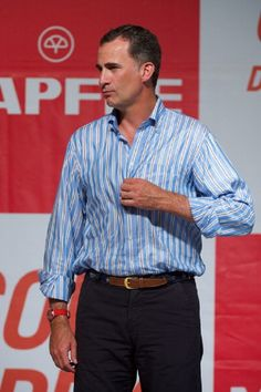 King Felipe VI of Spain attends the 33th Copa del Rey Mapfre Sailing Cup Awards celebration at the Ses Voltes Cultural Center on, 09.08.2014 in Palma de Mallorca, Spain.