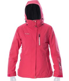 Pure Snow Chamonix Jacket. These garments are unique because they come with green credentials and are totally recyclable. 45K/45K waterproof / breathability, 100% seam sealed, primaloft insulation. $469.95 #snowgear #skigear #womensskijacket #ecofriendly
