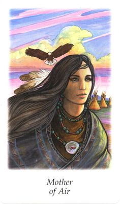 Vision Quest Tarot ► Mother of Air