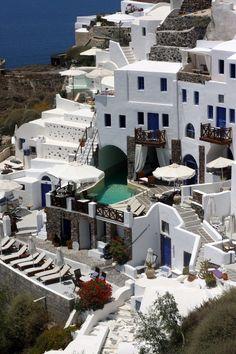 Santorini, Greek Islands  #wanderlust #vacation #travel  www.champagneflight.com