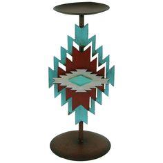 Southwest Metal Candlestick