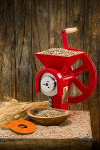 GrainMaker Grain Mill With Homestead Huller Kit Growing Wheat, Flour Mill, Mother Earth News, Spring Plants, Yard Design, Modern Landscaping, Handmade Home, Sustainable Living, Distillery
