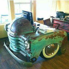 truck desk