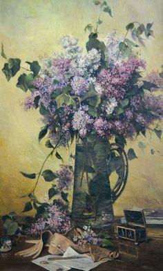 Bouchet de Liliac   Theodore Aman Art World, Painting & Drawing, Art History, Still Life, Culture, Purple, Drawings, Modern, Inspiration