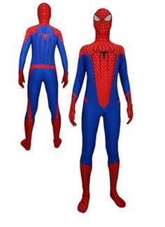 Spider Man Suit Cosplay the Amazing Spider Man Tights Costume Jamcos,http://www.amazon.com/dp/B00GRMOR4K/ref=cm_sw_r_pi_dp_CGTNsb0J8Q3JDRKQ