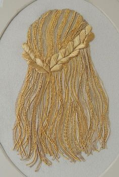 Hair embroidery