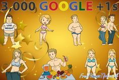 Free Fitness Tips has just reached 3,000 Google +1s. Click the pic to Circle & +1 the Free Fitness Tips page on Google Plus.