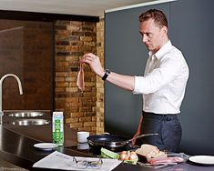 Tom Hiddleston. Photographed by Charlie Gray. Via Torrilla.