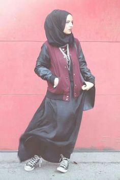 Punky muslimah :)
