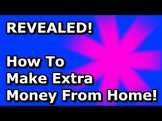 How To Make Extra Money From Home  - In this how to make extra money from home video, you will discover one proven resource to help you get fast results. Plus, an extra three tips from an industry insider to help you get on the fast track to success. #HowTo #Make #Extra #Money #Home