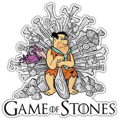 Pegatina Juego de Tronos Game of Stones #GOT #PicaPiedra #TeleAdhesivo