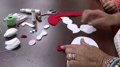 Mulher.com 16/09/2014 - Calendário de Papai Noel em  Feltro por Lucinha ...