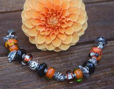 Another View of Halloween Bracelet!