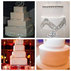 Diamond theme cakes