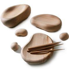 Sushi and chopstick, Kurokawa Masayuki design featured at Zens