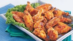 Green chilies and taco seasoning add the piquant flavor but it is the lemon-lime carbonated beverage that adds the sweetness to these chicken wings.