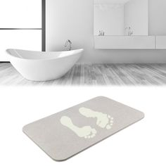 Wholesale Diatomite Waterproof Anti-Slip Bath Mats