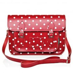 Zatchels - Polka Dots Red