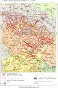 Prague Operation May 1945 World War Two, Prague, Vintage World Maps, Diagram, History, World War Ii, Historia, Wwii