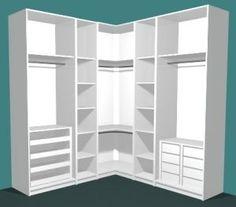 closet layout 407223991308267397 - Master Bedroom Closet Layout Wardrobes 31 Ideas Source by Corner Wardrobe, Wardrobe Design Bedroom, Master Bedroom Closet, Bedroom Wardrobe, Wardrobe Closet, Bedroom Decor, Bedroom Cupboards, Closet Layout, Dressing Room Design