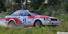 Toyota Corolla 1600 GT 2 - Lahti Historic Rally.2014