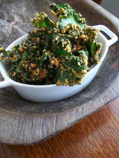 Cheezy Kale Chips by britton618, via Flickr