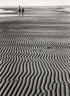 Ludwig Windstosser. Walk at low tide,  1957