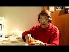 great depression era cooking with 96 yr old Clara - Holiday Cooking: Sicilian Fig Cookies - Part I