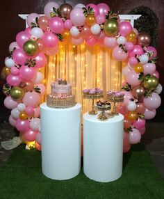 18 Birthday Party Decorations, 18th Birthday Party, Balloon Decorations Party, Birthday Dinners, Special Birthday, Jojo Siwa Birthday, Ideas Para Fiestas, Balloon Bouquet, Balloons