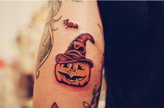 20 Jack-o-Lantern Tattoos fo Halloween | Best Tattoo Ideas Gallery