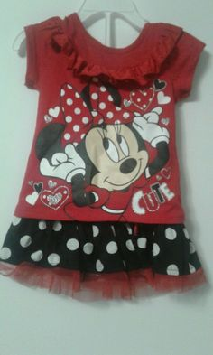46070e3c49f73 Toddler Kids Girls Minnie Mouse Princess Party Casual Tutu Dress Outfits  Costume #fashion #clothing #shoes #accessories #kidsclothingshoesaccs ...