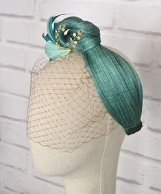 Facinator Hats, Sinamay Hats, Fascinator Headband, Fascinators, Headdress, Headpiece, Pamela, Turban Style, Headgear