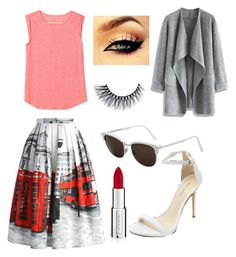 """""""Skylar's film outfit"""" by ashlyncasey on Polyvore featuring Chicwish, LOFT, RetroSuperFuture and Givenchy"""