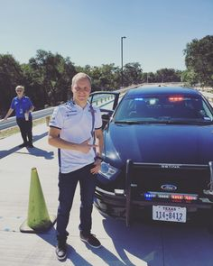 What a day - Spent the day with Georgetown Police Department doing different activities like driving a police car! Very special and unique experience